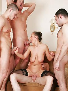 Mature Group Sex Pics