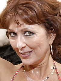 mature facial porn Oct 2014  Dirty moms with chubby bodies give deepthroat blowjob until they get fat ass  facial cumshot.